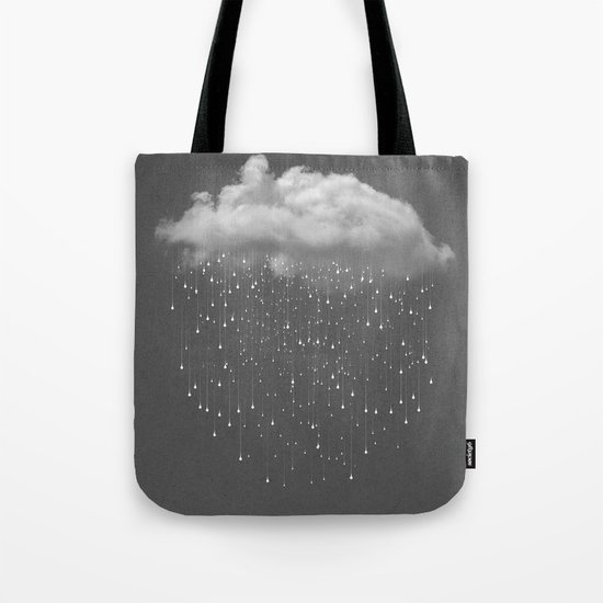 Let It Fall II Tote Bag