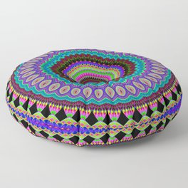 the dreamer Mandala Floor Pillow