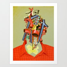 Head of the Organ Art Print