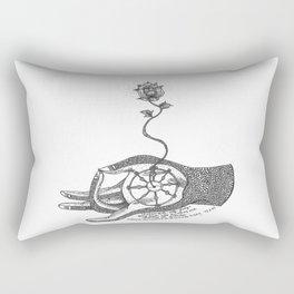 SVADHYAYA: the self-stufy Rectangular Pillow