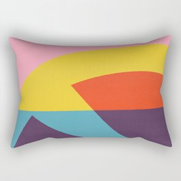 Pink Cocktail Rectangular Pillow