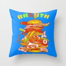 BRGRTM Throw Pillow