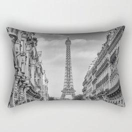 Parisian Flair | monochrome Rectangular Pillow