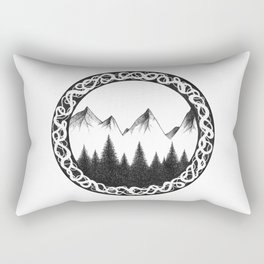 Woods Rectangular Pillow