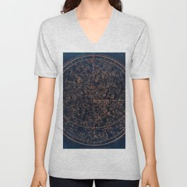 Constellations of the Northern Hemisphere Unisex V-Neck