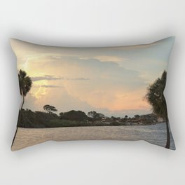 Evening View Rectangular Pillow