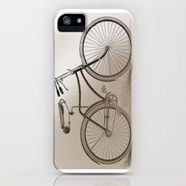 Vintage bike iPhone Case