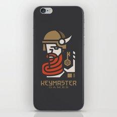Keymaster Games iPhone & iPod Skin