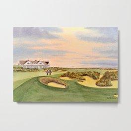 Kiawah Island Ocean Golf Course Metal Print