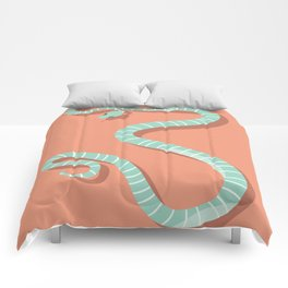 Snake card - hello stranger Comforters