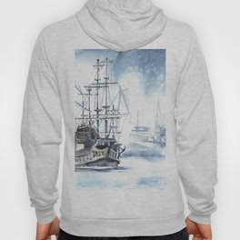 Harbour in Gdynia Hoody