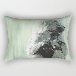 Baboon Distractions Rectangular Pillow