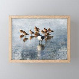 Vive La Difference Framed Mini Art Print