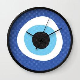 Evi Eye Symbol Wall Clock