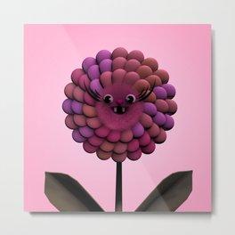 Happy Flower Gizmo Metal Print