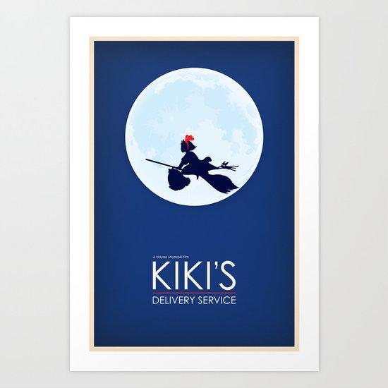 Kiki's Delivery Service Art Print