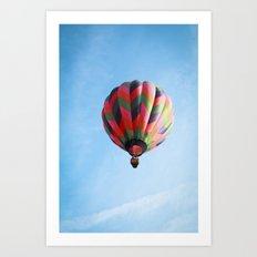 Lighter Than Air - Balloon  Art Print
