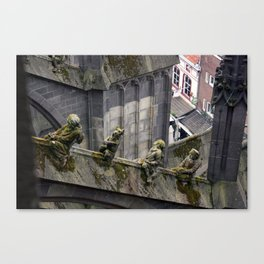 Creatures of Jheronimus Bosch Canvas Print