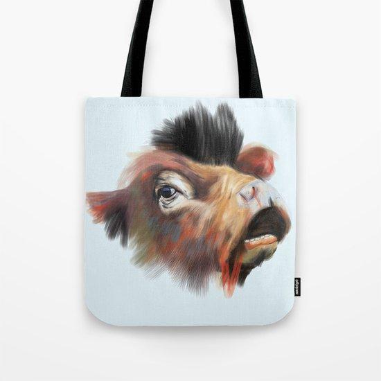 Crazy Cow Tote Bag