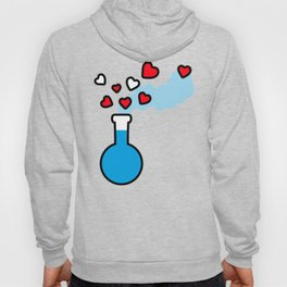 Blue and Red Laboratory Flask Hoody