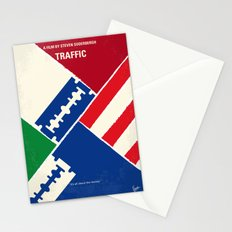 No739 My Traffic minimal movie poster Stationery Cards