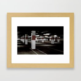Park here Framed Art Print