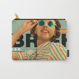 Bright Cinnamon Carry-All Pouch