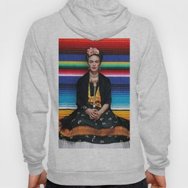 FRIDA KAHLO MEXICAN PATTERN Hoody