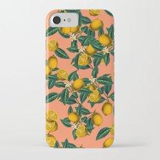 Lemon and Leaf iPhone 7 Slim Case