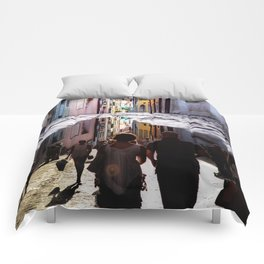 A Reflection of City Life by GEN Z Comforters