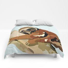 Tree Sloth Comforters