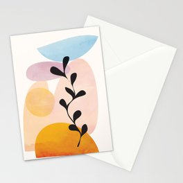 Abstract Shapes14 Stationery Cards