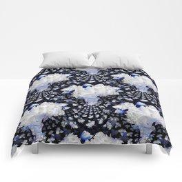 Fractal Lily Vase - BWB Comforters