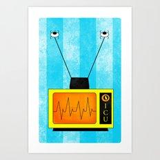 ICU. Art Print