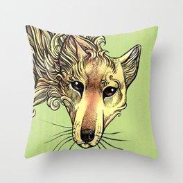 A Phantom in the Wilderness - The Thylacine Throw Pillow