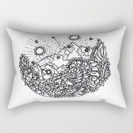 Mountain Pass Rectangular Pillow