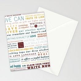 Writer's Manifesto from Original Impulse Stationery Cards