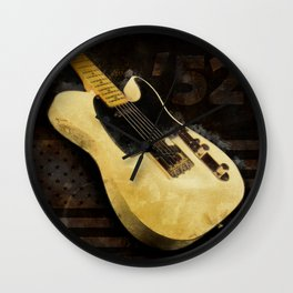 My AMERICAN VINTAGE '52 TELECASTER Wall Clock