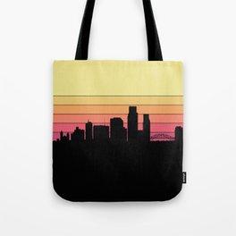Corpus Christi Skyline Tote Bag