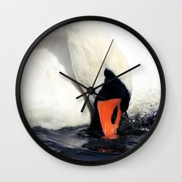 Take a Dip Wall Clock