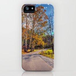 Cades Cove iPhone Case