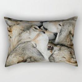 Muzzle Nuzzle Rectangular Pillow