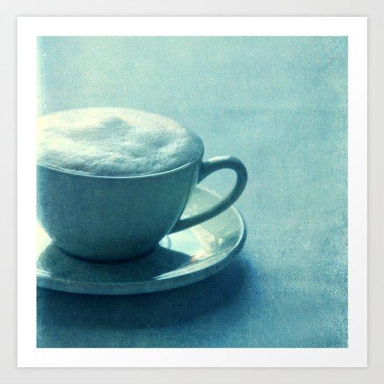 Coffee Lounge Art Print