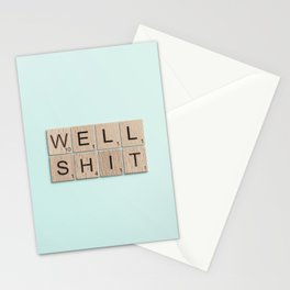 Well Shit Stationery Cards