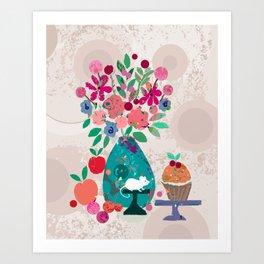 Miss Mousie Art Print