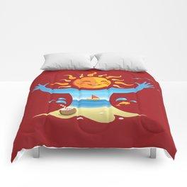 Sun, Sea and Sand Comforters