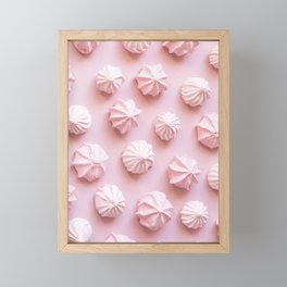 Pink Dessert Framed Mini Art Print