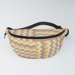 Geometric crisscross pattern Fanny Pack