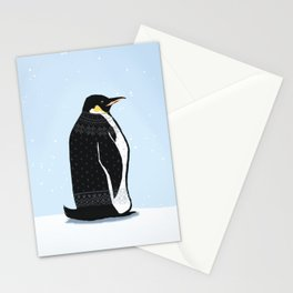 Sweater Weather Penguin Stationery Cards