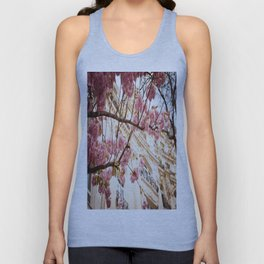 Flowers and Building Unisex Tank Top